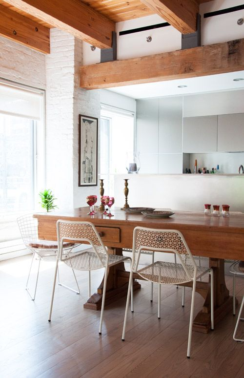 Modern But Not Cold In New York Home Kitchens Dining Room Inspiration Kitchen Design