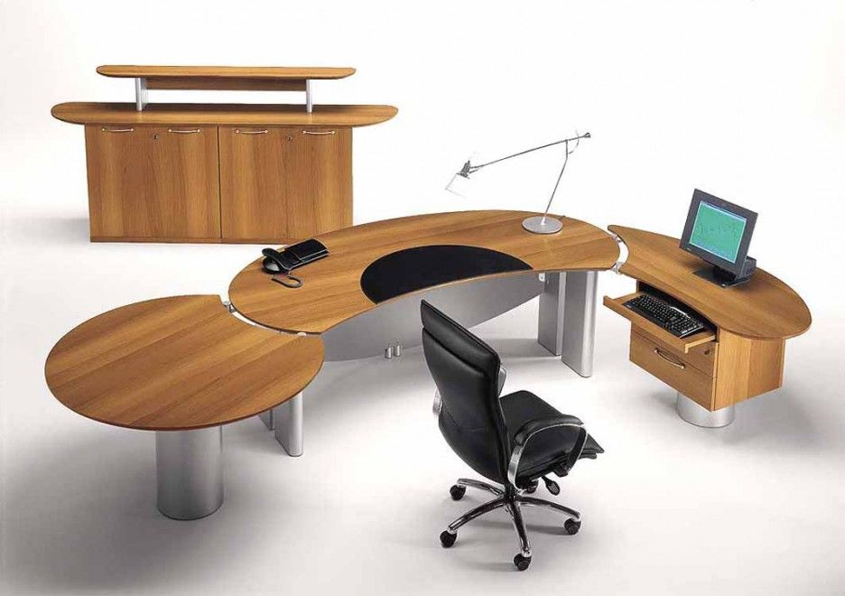 Furniture Exciting Home Office Modular Desks Designs Unusual