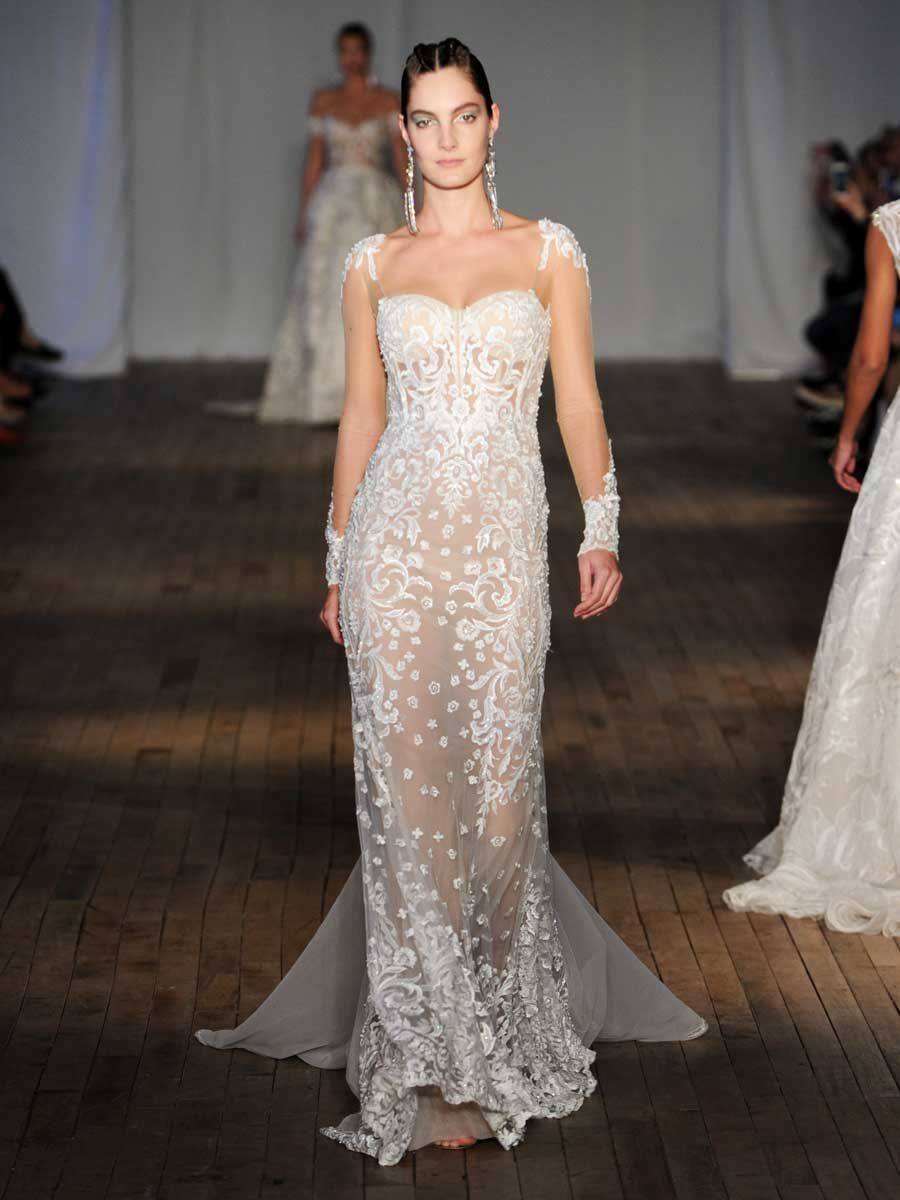 Berta springsummer sexy sparkly and daring looks wedding