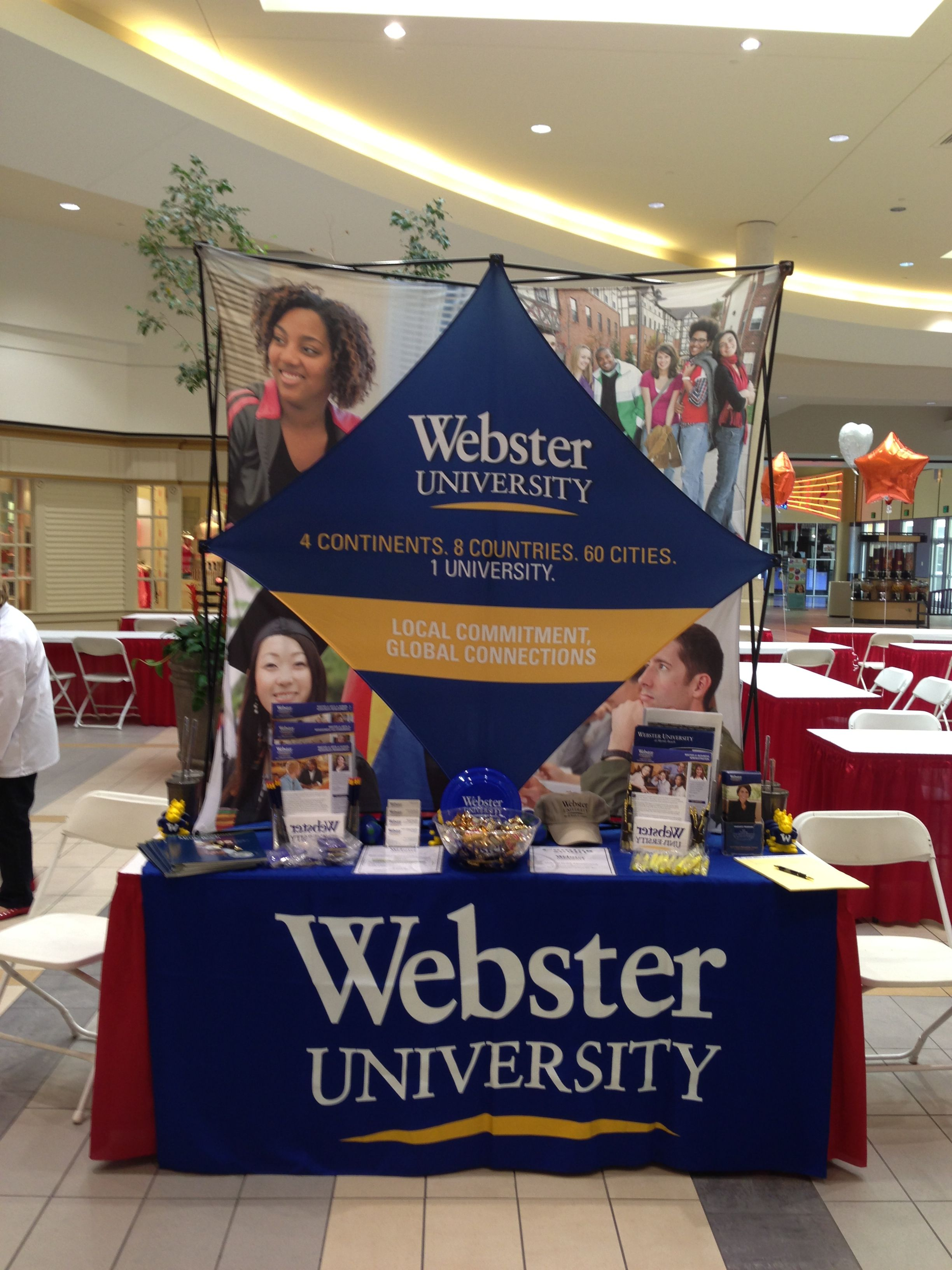 Display for Webster University (Myrtle Beach, SC) Campus in