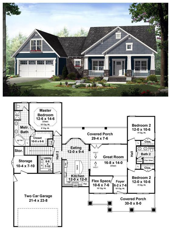amazing house plan 3 bedroom 2 bath. COOL House Plan ID  chp 48751 Total living area 1637 sq ft Craftsman Bedrooms and
