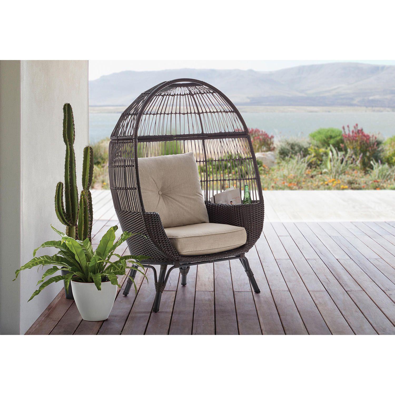 Members mark stationary egg chair brown sams club in