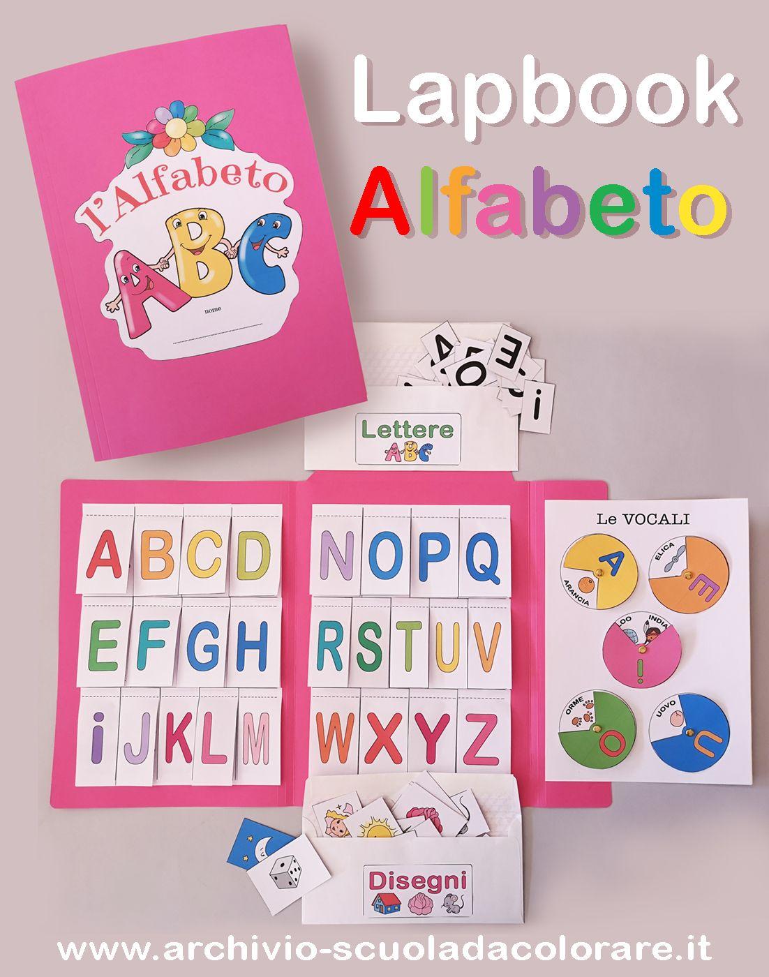 Lapbook Alfabeto Lapbook Bambini Della Scuola Attivita Con Alfabeto