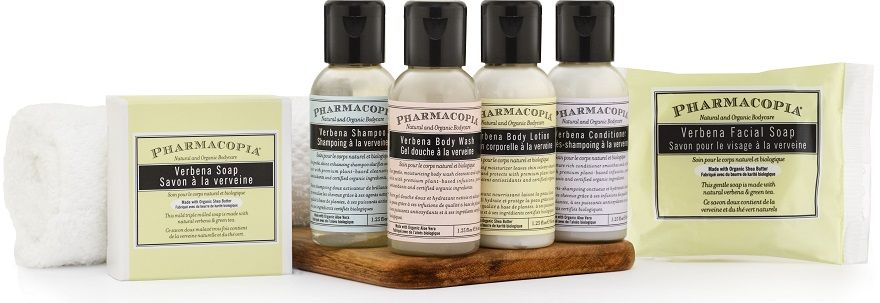PHARMACOPIA Hotel Amenities - Eco-Friendly Hotel & Hospitality Supplies - Including Dispensers & Gallon Amenities