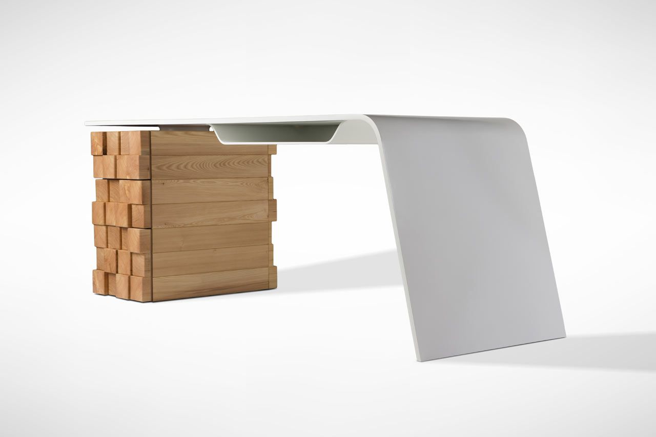 high design furniture. High-tech Office Desk Katedra By Desnahemisfera (1) High Design Furniture