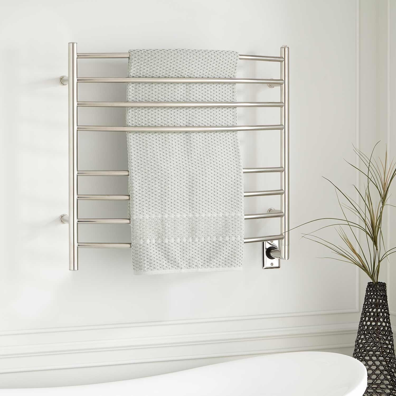 33 Bremen Curved Hardwired Towel Warmer Towel Warmer Signature