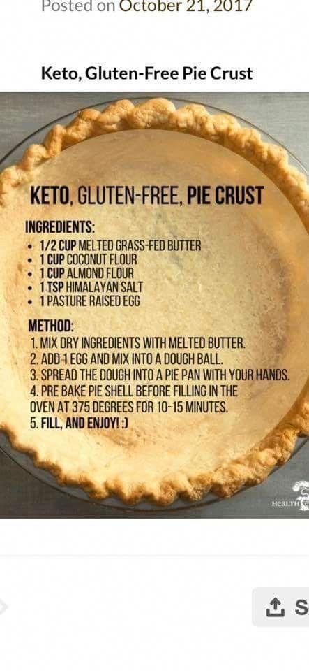 gluten free pie crust!!