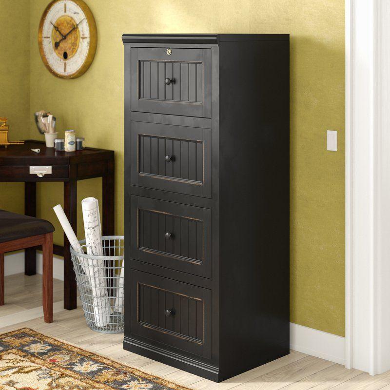 Didier 4 Drawer File Types Of Doors Drawers Bush Furniture