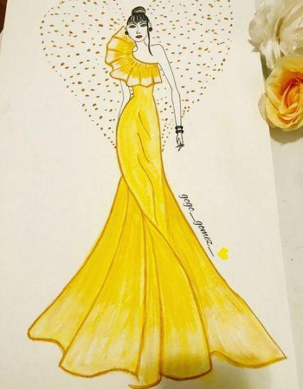 Drawing Ideas Creative Sketchbooks Fashion Design 34 Ideas For 2019 Fashion Illustration Sketches Dresses Dress Design Drawing Fashion Design Drawings