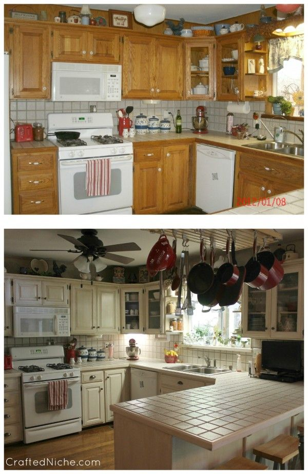 A-M-A-Z-I-N-G!! Rustoleum transformations linen before and after 2