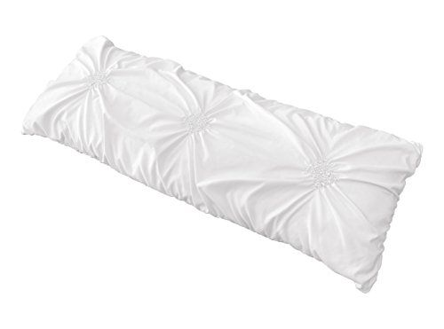Solid Color White Shabby Chic Body Pillow Case Cover For Harper Collection Pillow Not Included In 2020 White Shabby Chic Body Pillow Pillows