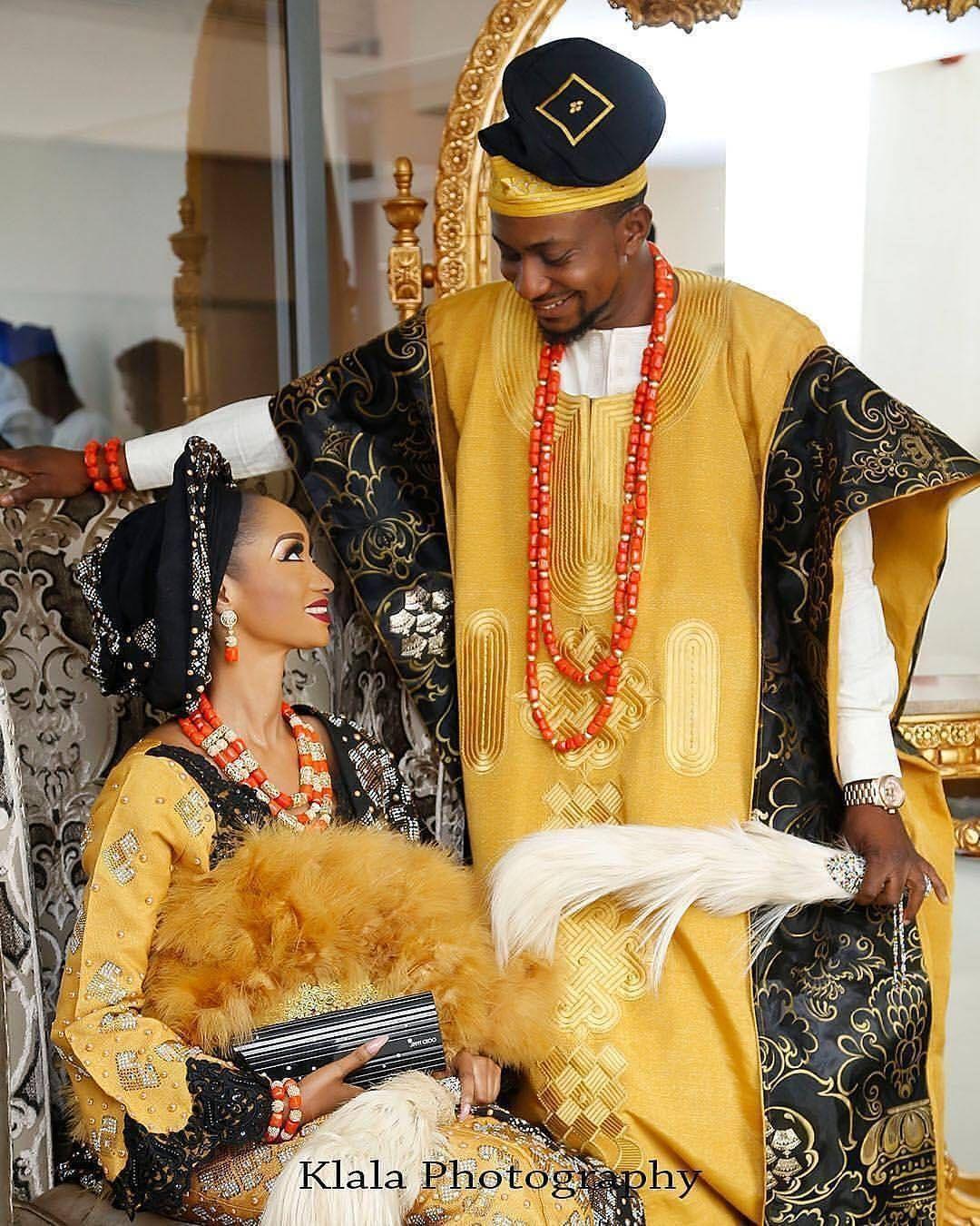 Traditional nigerian wedding dresses  Nigerian wedding  Slay Couples  Pinterest  Nigerian weddings and