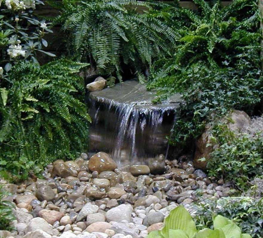 Faire Une Cascade Sans Pompe 100 marvelous small front garden design with waterfall ideas