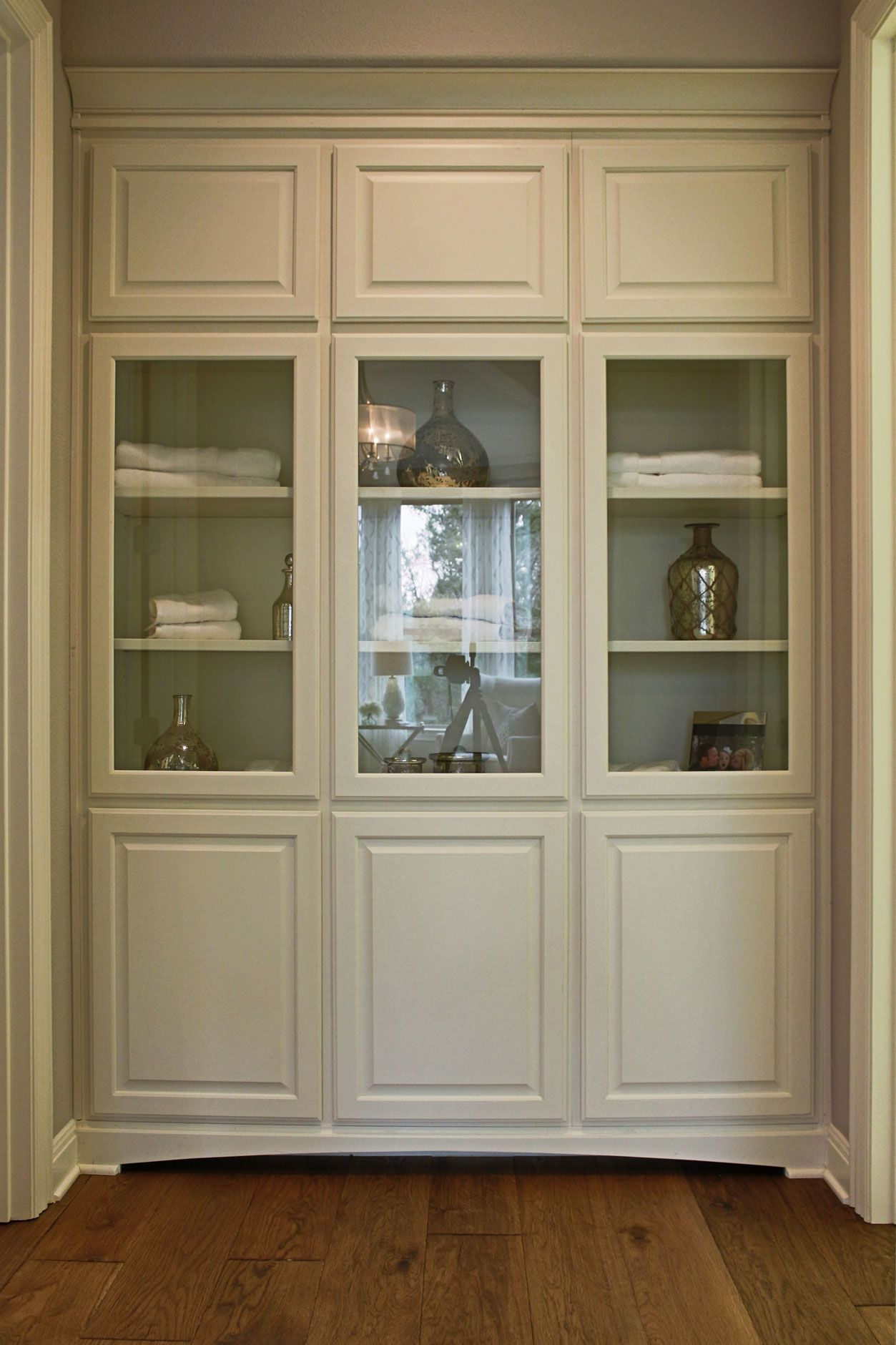 Kitchen Cabinets To Ceiling With Glass Burrows Cabinets 39 Bathroom Floor To Ceiling Linen Cabinets