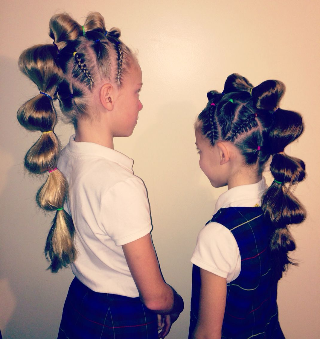 crazy hair day at school today! | my hairstyles in 2019