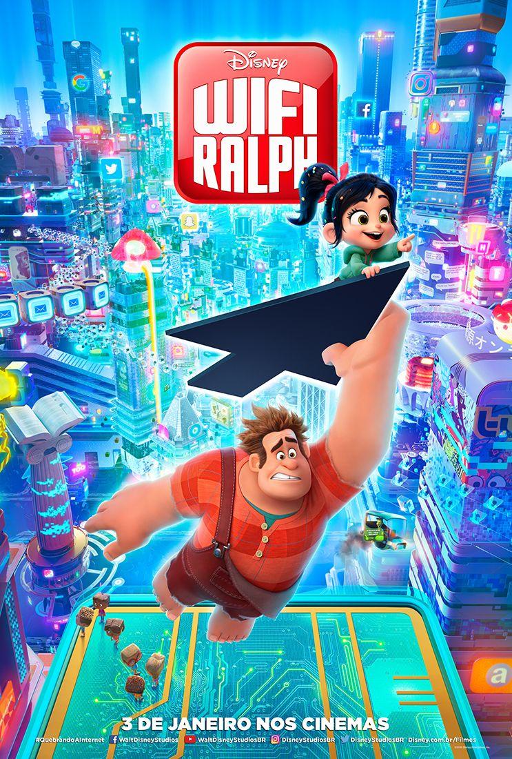 Que Delicia O Trailer De Wifi Ralph Wreck It Ralph 2 Mega Filmes Online Filmes On Line
