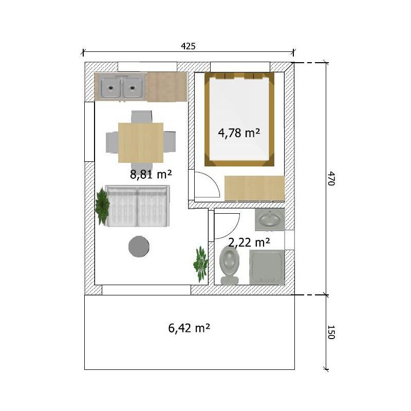 Superbe Plan De Banc De J En 2020 Amenagement Studio 20m2 Amenagement Studio Plan Appartement