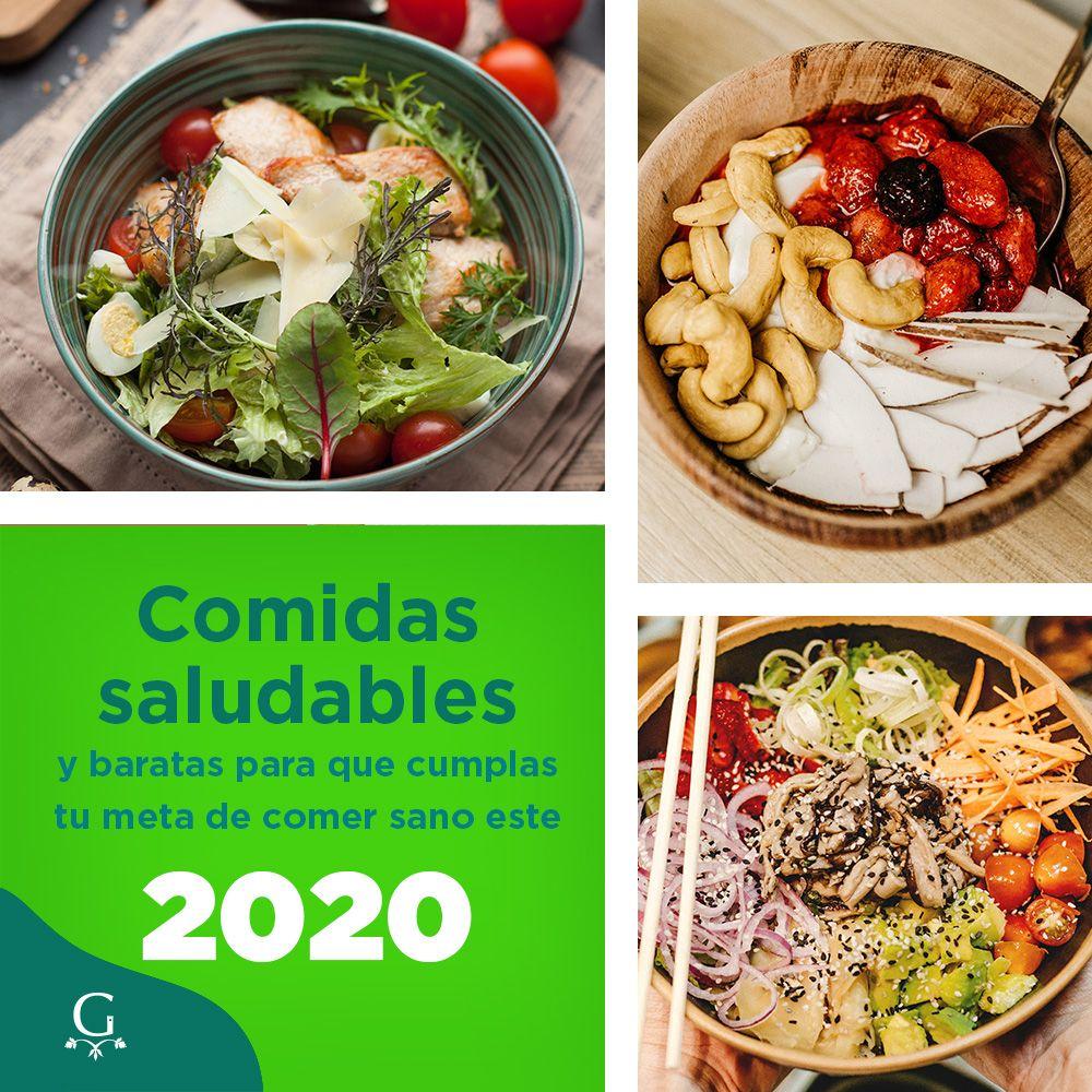 Comidas Saludables Y Baratas Para Que Cumplas Tu Meta De Comer Sano Este 2020 Comidas Saludables Y Baratas Comida Recetas De Comida Saludable