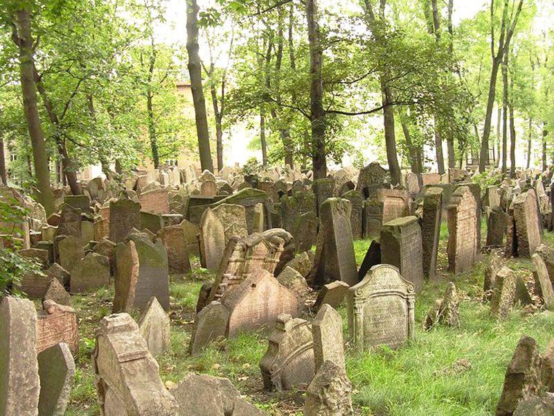 Αποτέλεσμα εικόνας για the old jewish cemetery in prague