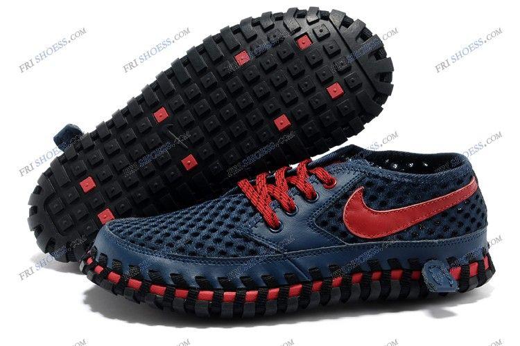 ... cheap nike acg dark blue red mens summer shoes