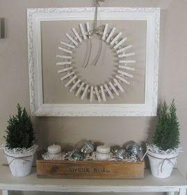 Fern Creek Cottage: Christmas Card Holder Wreath