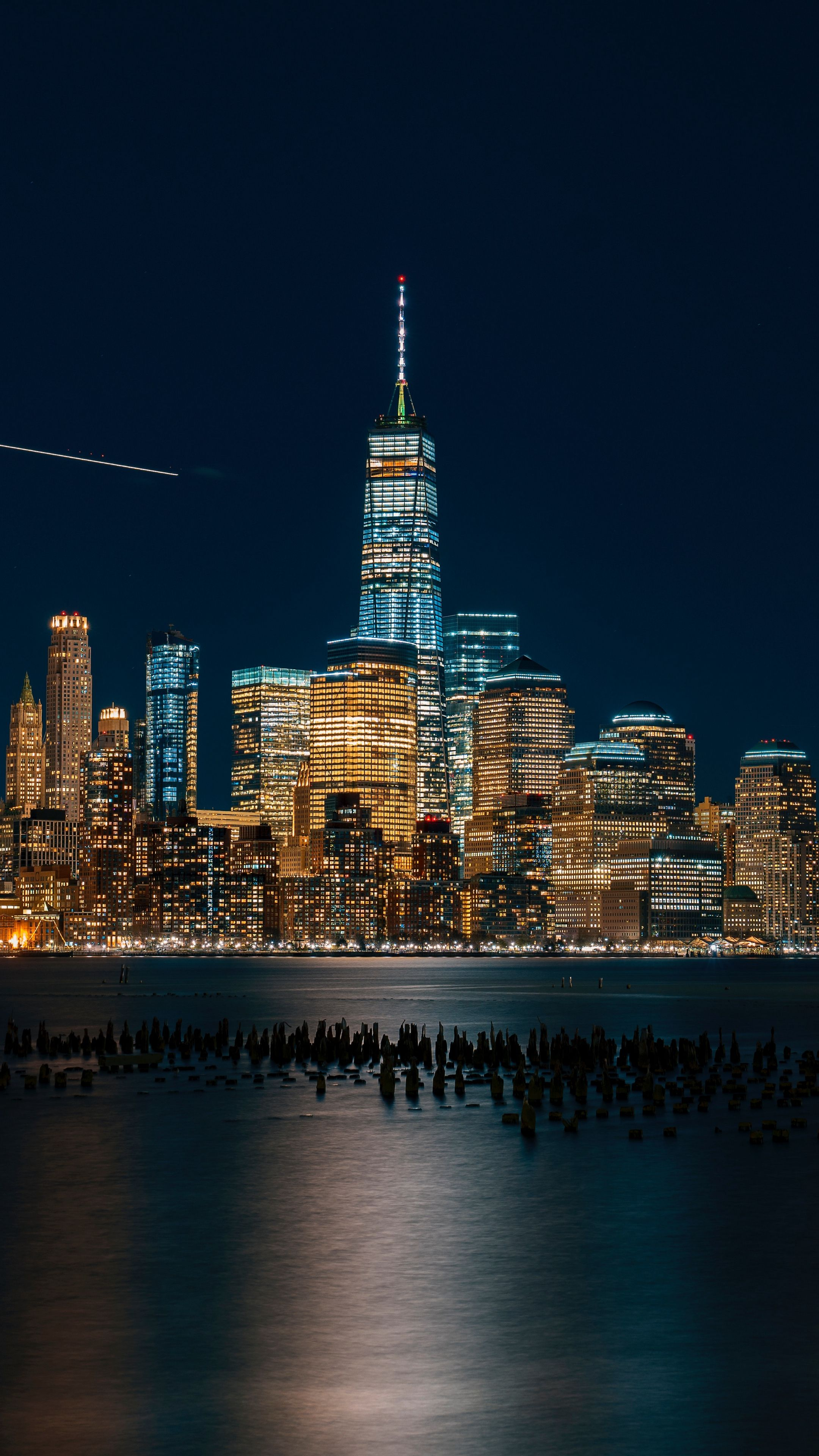 Places newyork usa nightcity wallpapers hd 4k