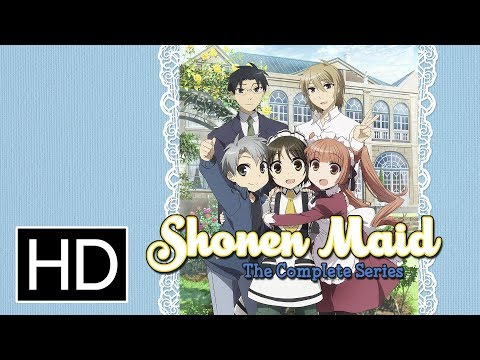 The complete anime series SHONEN MAID has been released on