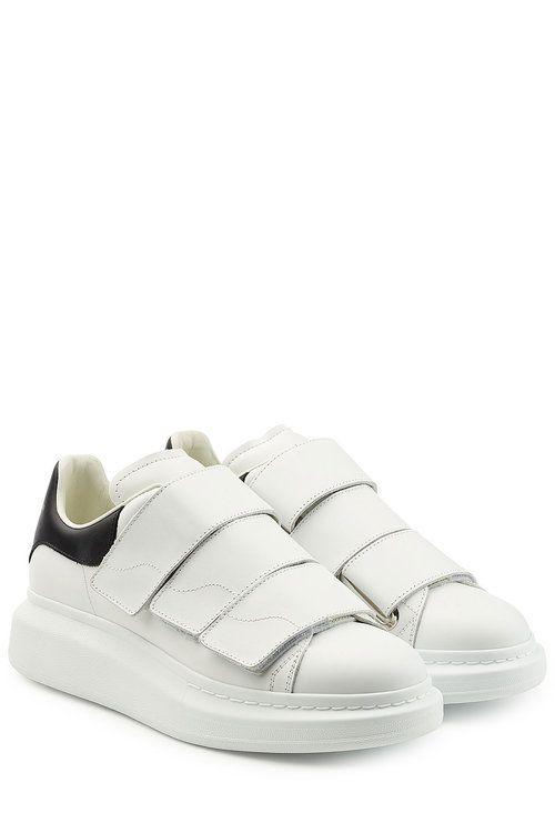 ad5dc9b4fe68c ALEXANDER MCQUEEN Leather Sneakers.  alexandermcqueen  shoes ...