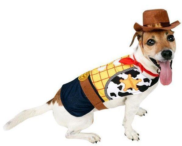 Dog Woody Fancy Dress Costume Pet Costumes Animal Costumes Dog