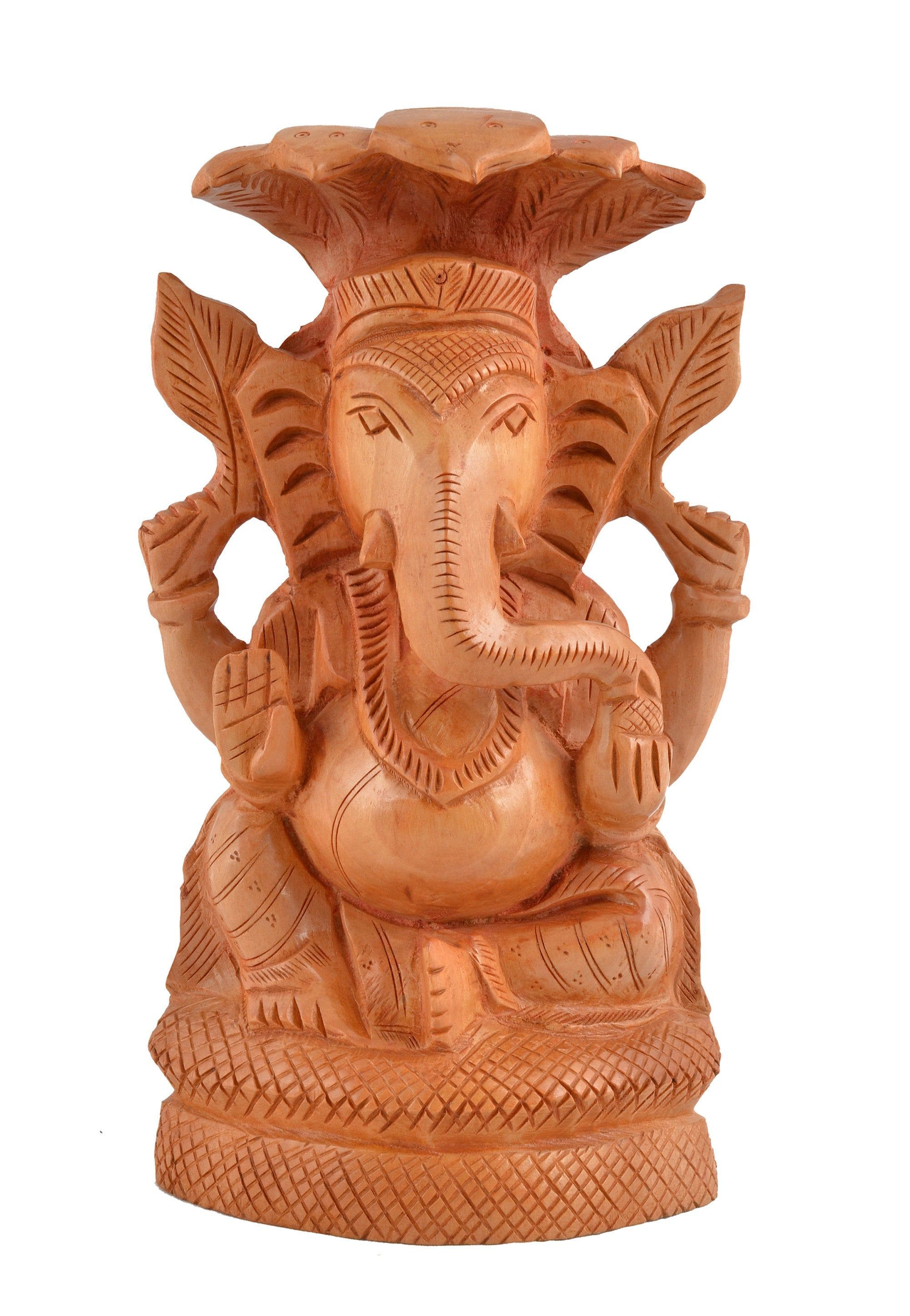Decorative Indian Lord Ganesh Wooden Statue Lucky Figurine Living Room Ornament Showpiece For Housewarming Gift Satywan Singh Decorative I Ganesh Lord Etsy #showpiece #for #living #room