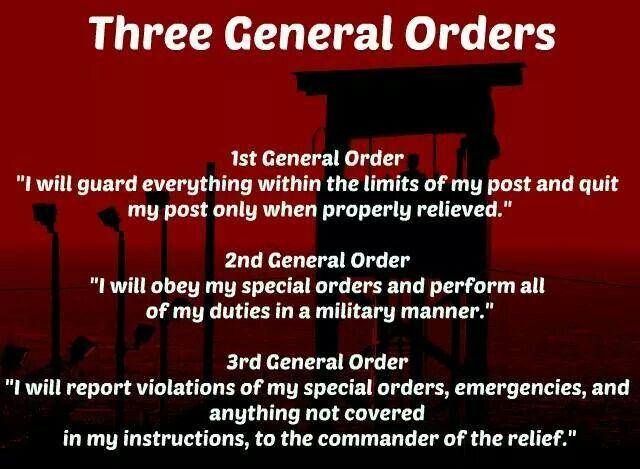 three general orders