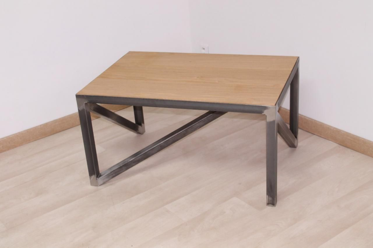 Table Basse Industrielle Industrial Pinterest Table Basse