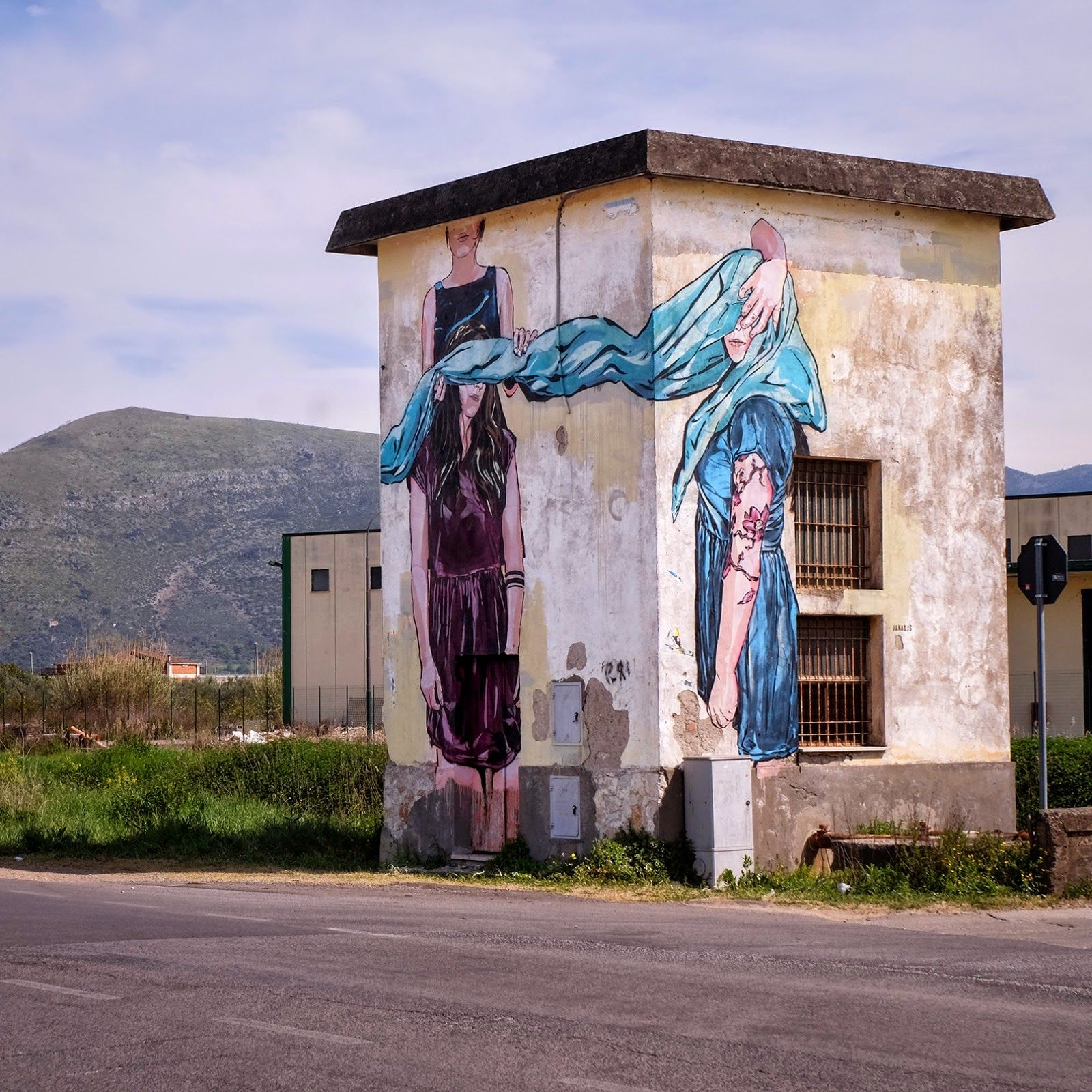 New pieces by Jana & Js in Gaeta, Italy for Memorie Urbane '15