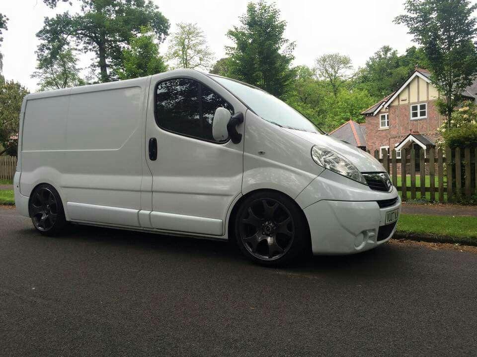Lowered Vivaro On 19 Tiger Claws With Images Custom Vans Vans Vauxhall