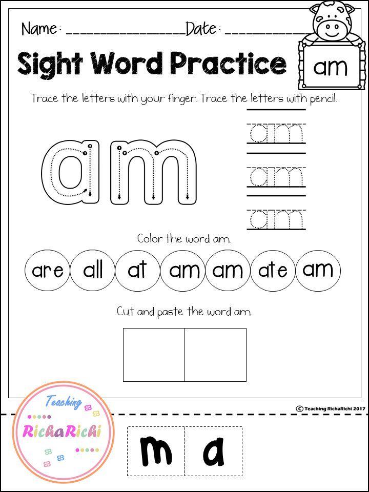 Free sight word activities primer sight words pinterest free sight word primer activities preschool sight words sight word activities ibookread PDF