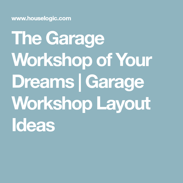 Photo of Tips to Create a Simple Garage Workshop