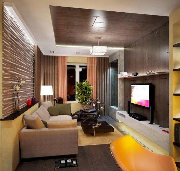 Modern pop false ceiling designs for living room 2015
