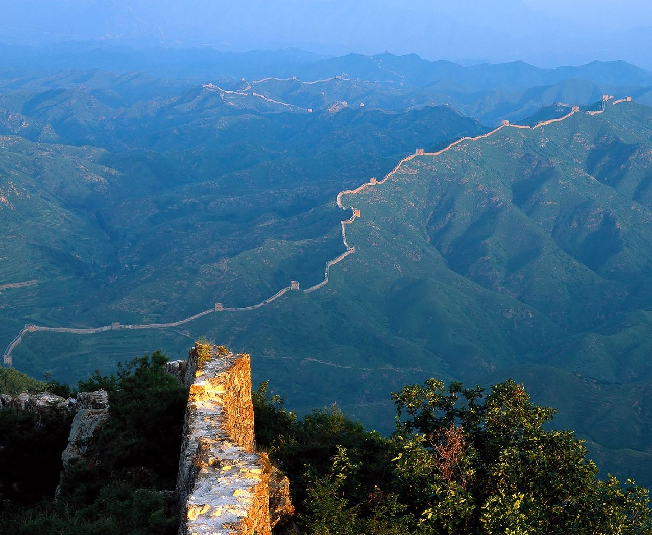 great wall of china aerial view grande muralha da china on great wall of china id=21267