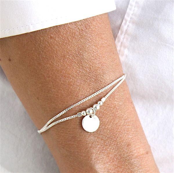 chaine bracelet argent