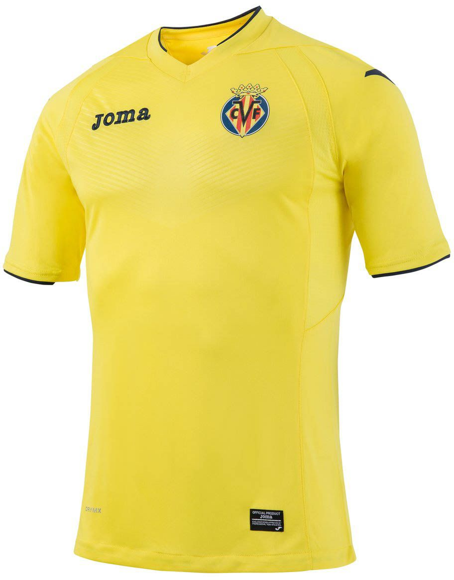 The new Villarreal 2016-17 kits are made for the first time by Joma. They  introduce outstanding designs. 83590e02be7f0