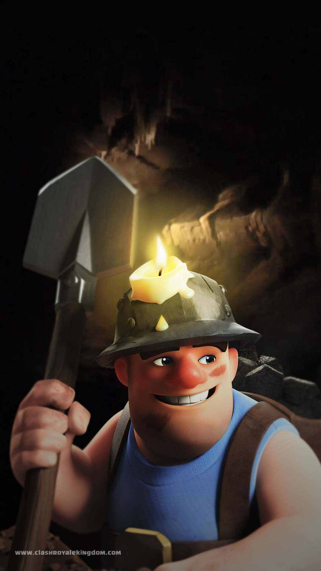 Clash Royale Wallpaper Miner Supercell Clash Royale Clash Of