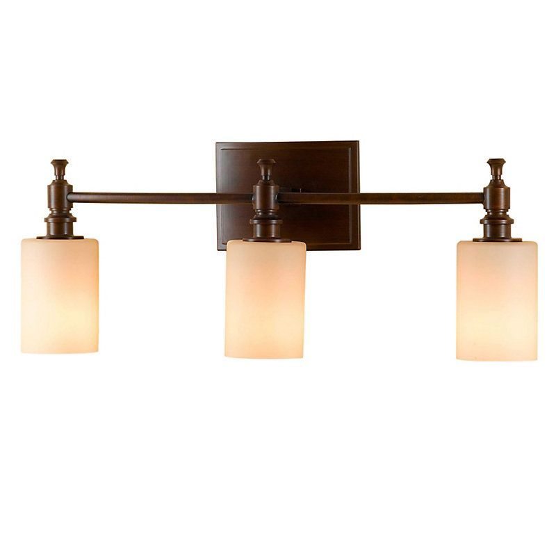 Crystal Accent Vanity Light 3 Light Bathroom Light Fixtures