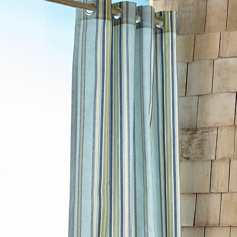 Sullivan Maui 108 Grommet Curtain Curtains Outdoor Curtains