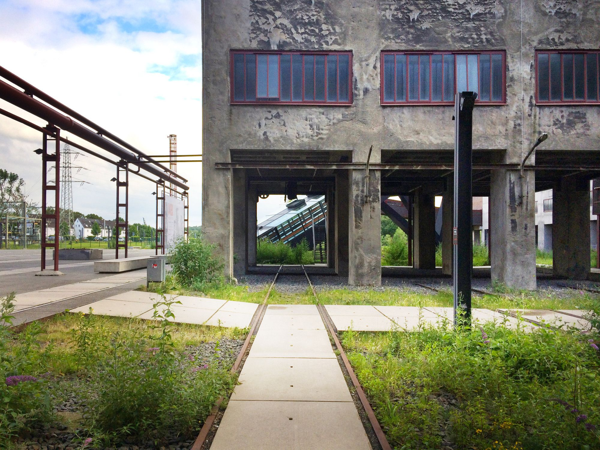 Gallery Of A Photographic Journey Through Zollverein Post Industrial Landscape Turned Machine Age Playground 3 Landscape And Urbanism Industrial Architecture Country Garden Design