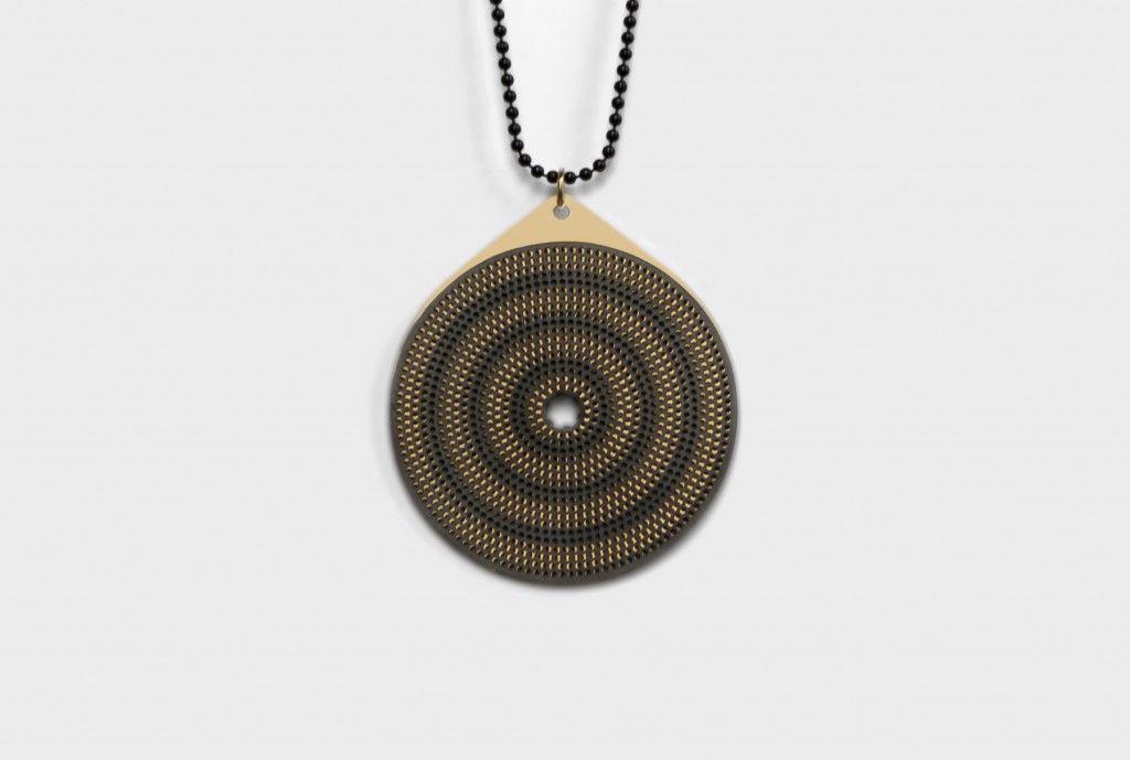 Moire Jewelry – style 4 – David Derksen Design