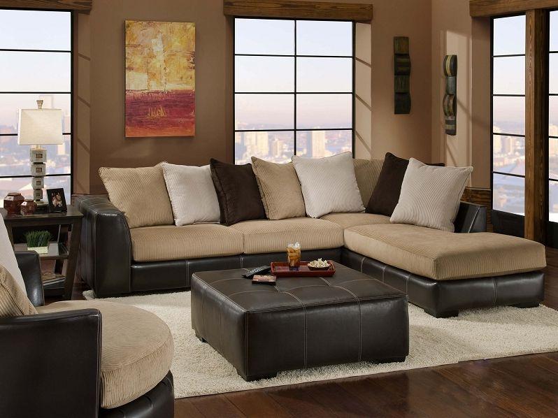 Room · San Marino Mocha Contemporary Sectional. Rana Furniture Amazing Ideas