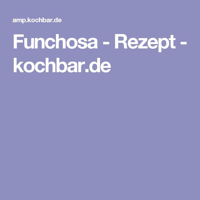 Funchosa - Rezept - kochbar.de