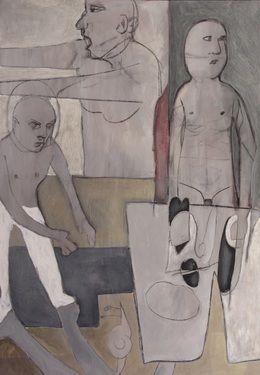 "Saatchi Art Artist Miguel Morales; Painting, ""Pausanias II"" #art"
