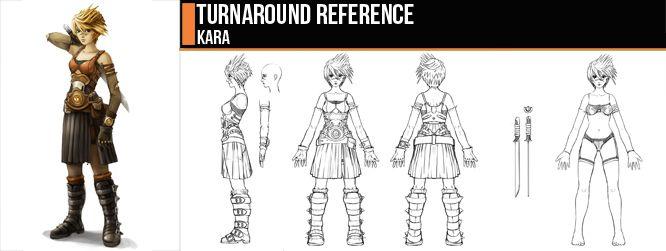 Turnaround - Kara by ConceptCookie.deviantart.com on @deviantART