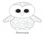 beanie boos coloring pages printable - print leona beanie boo coloring pages beanie boo party